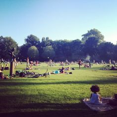 Lovely summer day at #amsterdam #oosterpark