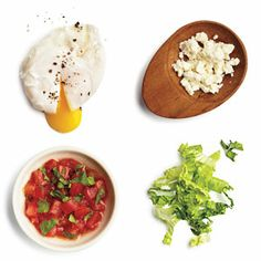 100-Calorie Burger Toppings | The Poached Egger | CookingLight.com