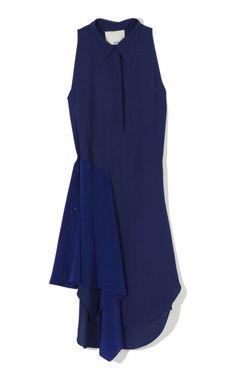 Moss Crepe Sleeveless Shirt Dress by 3.1 Phillip Lim for Preorder on Moda Operandi