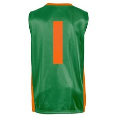 NCAA Miami Hurricanes Boys' V-Neck Replica Basketball Jersey - XS, Boy's, Multicolored