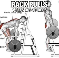 Back Workout But Slightly Different Part 2! Rack Pulls
