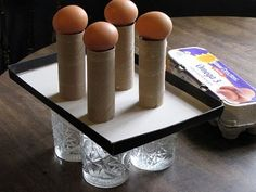 Demonstrate Newton's first law of motion with raw eggs. Now this would get kids engaged!