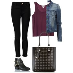 Edgy Hanna Marin inspired outfit