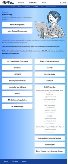 Screenshot: ENTRi Humanitarian Law, Cat People, Stress Management, You Are The Father, Auntie, Fathers, Blessed, Army, Peace