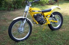Before And After Photos Of My Modified - Yamaha - Trials Central Yamaha Dt, Motos Yamaha, Yamaha Cafe Racer, Off Road Bikes, Dirt Bikes, Motos Trial, Trial Bike, Bike Rider, Motorcycle Art