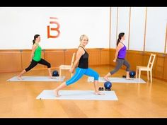 7 YouTube Barre Workouts You Can Totally Do from Home | Brit + Co