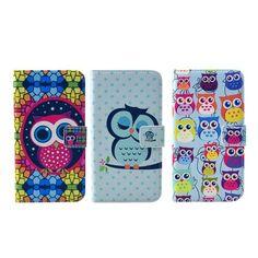 Usnjen etui Owl za Samsung Galaxy S6 Edge