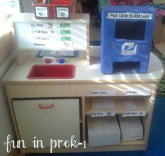 post office dramatic play [Fun in PreK-1: freebies]
