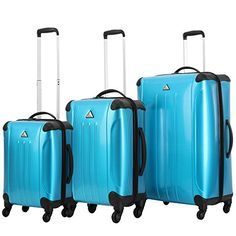 Triforce Apex101 Blue 3 Piece Spinner Luggage set -- This is an Amazon Affiliate link. To view further for this item, visit the image link.