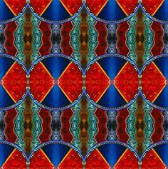 Zuni Gardens fabric by loriwierdesigns on Spoonflower - custom fabric