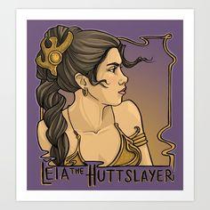 """Leia the HuttSlayer"" by Karen Hallion"