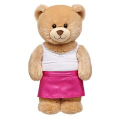 Fuchsia Metallic Skirt | Build-A-Bear