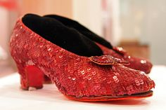 Dorothy's Ruby Slippers ~ displayed at the Smithsonian National Museum of American History