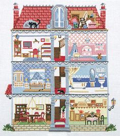 Cross Stitch Dollhouses: November 2012