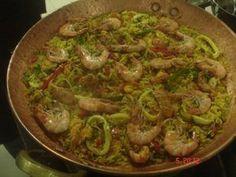 Paella Espanhola   Peixes e frutos do mar > Paella   Receitas Gshow