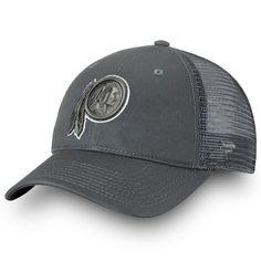 89b7727733b438 Men's Washington Redskins NFL Pro Line by Fanatics Branded Charcoal Pop  Trucker Hat, Your Price: $19.99