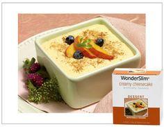 WonderSlim - Strawberry Cheesecake - YUM eating