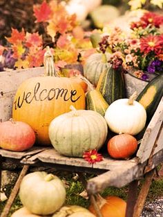 Decoración para Bodas de Otoño #Autumn #Fall #Weddings #Deco