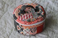 QAYG Traveling in Circles Tote by bryanhousequilts, via Flickr-pattern tweaks