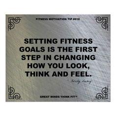 Gym Poster for Fitness Motivation #018