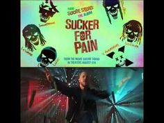 Watch the exclusive Sucker For Pain music video from Suicide Squad