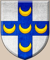 Coat of Arms of Pope Pius II/Pope Pius III | Family Crest of the Piccolomini Family