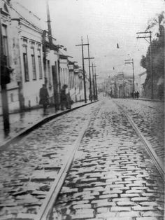 1938 - Rua Santo Amaro na Bela Vista ( Bixiga )