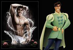 Sexy Disney Heroes - Prince Naveen by davidkawena