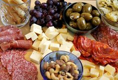 Have fun creating a simple antipasto tray for your next gathering. It's…