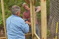 with Ask This Old House general contractor Tom Silva | thisoldhouse.com | from Build It | How to Build a Chicken Coop