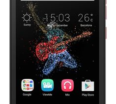 """ALCATEL Go Play 5"""" 4G 8 Go Rouge"""