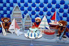 Cute sailor bear table