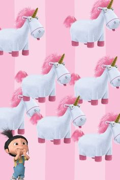 Agnes and Unicorn Wallpaper | 28 best images about agnes :) on Pinterest | Glow, Despicable me 2 ...