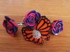 Anelli farfalle butterfly fimo