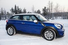 ♡❤ ❥ @MINI Paceman prepares for a spot of Arctic ice driving. #automfg via #chatwrks