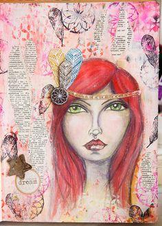 CATCHING UP: ART JOURNALING / MIXED MEDIA 2 » Creative Creations