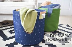 DIY Fabric Storage B