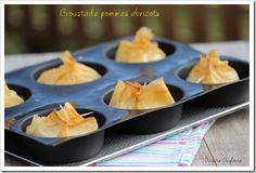Croustades pommes/abricots