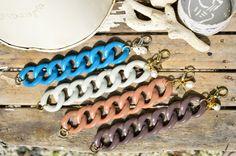 Bracciali in catena di resina tipo vintage con di EtVoilaBijoux