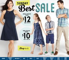 Old Navy provides the latest fashions at great prices for the whole family. Shop men's, women's, women's plus, kids', baby and maternity wear. We also offer big and tall sizes for adults and extended sizes for kids. Navy Shop, Toddler Boys, Kids, Maternity Wear, Boy Or Girl, Latest Fashion, Old Navy, Summer Dresses, How To Wear