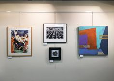 Photo: Heidi Lewis Coleman is currently exhibiting her Acrylic & Cut Paper piece, PASSAGES, in the Katonah Museum Artists' Association's all member show at the Katonah Village Library. Show dates: November 2nd - December 29th. The Katonah Library is located at 26 Bedford Road in Katonah, New York.