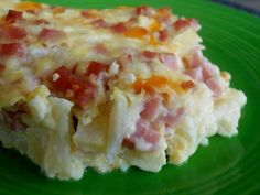 Make and share this Low Carb Amish Ham Casserole recipe from Food.com.