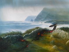 John Howe   Dragon