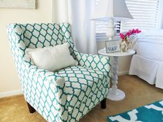 Have a comfortable place for your guest to sit in the guest bedroom.
