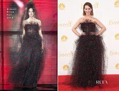 Sarah Paulson In Armani Privé – 2014 Emmy Awards