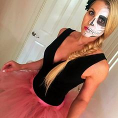 Fitness toasty ve vaječném županu Halloween 2016, Halloween Face Makeup, Food And Drink