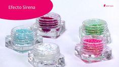 Te explicamos cómo aplicar esta colección de polvos brillantes que da un efecto llamativo y colorido a tus uñas, tanto naturales como artificiales.   Para comprar Efecto sirena: http://todo-nails.com/efecto-sirena/