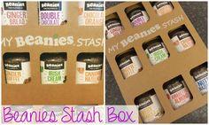 Sweet Elyse: Beanies Stash Box || Coffee Choices Make Me Happy
