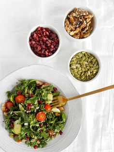 Hearty Winter Salad via SAS + ROSE | sasandrose.com