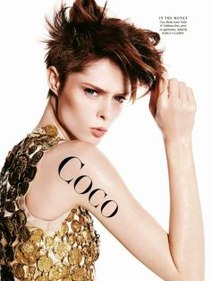 Coco Pops: #CocoRocha by #ToddBarry for #HarpersBazaarAustralia April 2014